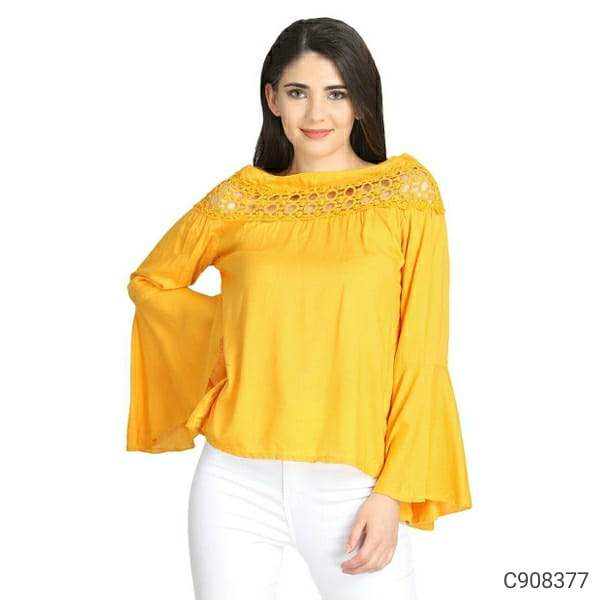 Women's Cotton Solid Tops