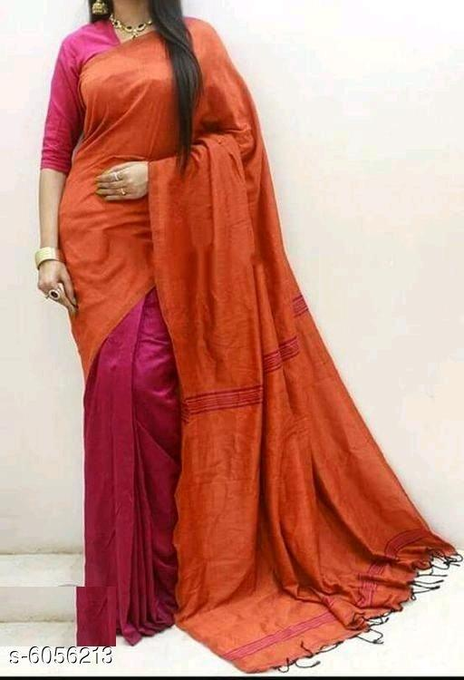 Stylish Cotton Silk Women's Saree