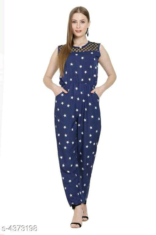 New PolyCrepe Women's Jumpsuits