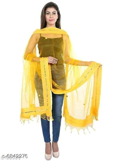 Alluring Fashionable Women Dupattas