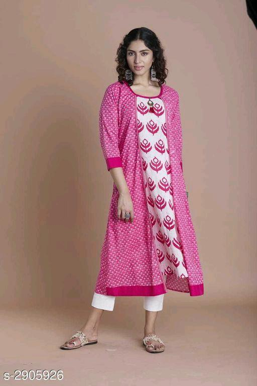 Tanya Trendy Cotton Women's Kurtis Vol 1