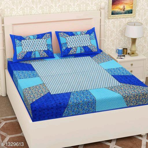 Supreme Home Comfy Pure Cotton Double Bedsheets