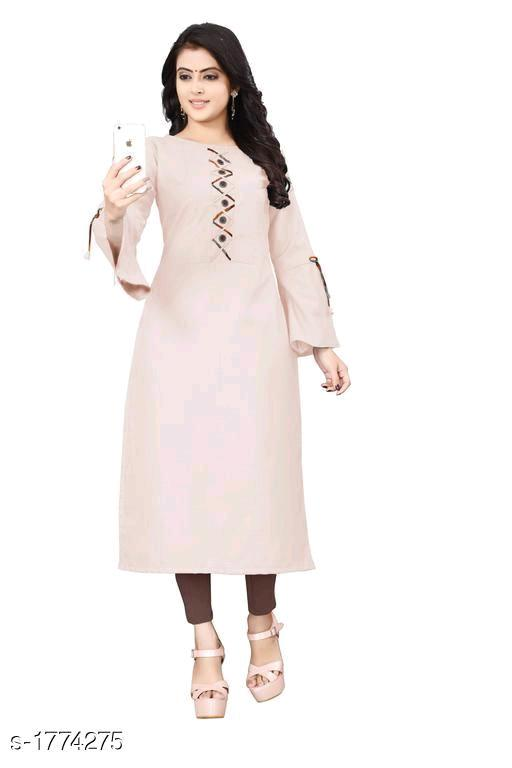 Alice Trendy Cotton Slub Women's Kurtis Vol 11