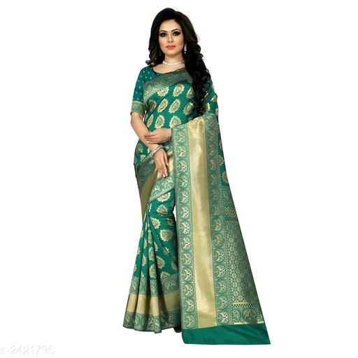 Riya Attractive Banarasi Silk Women's Sarees Vol 9