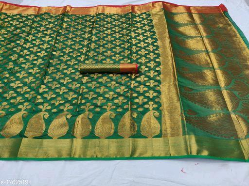 Tiya Stylish Cotton Silk Sarees Vol 14