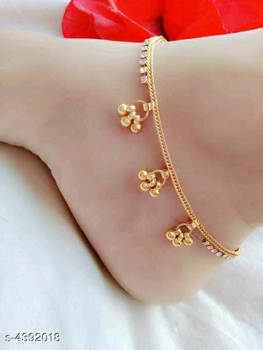Trendy Women's Alloy Anklets