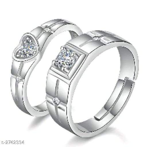 Beautiful Alloy Couple Rings Vol 5