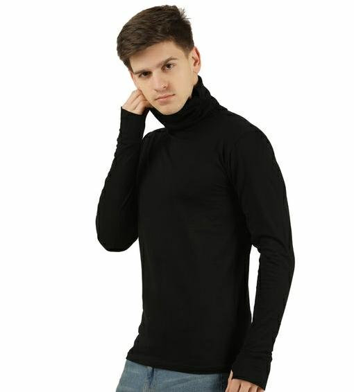 Fancy Designer Men Black Tshirts