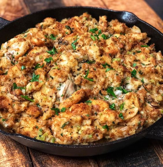 Thanksgiving Oyster Stuffing Recipe