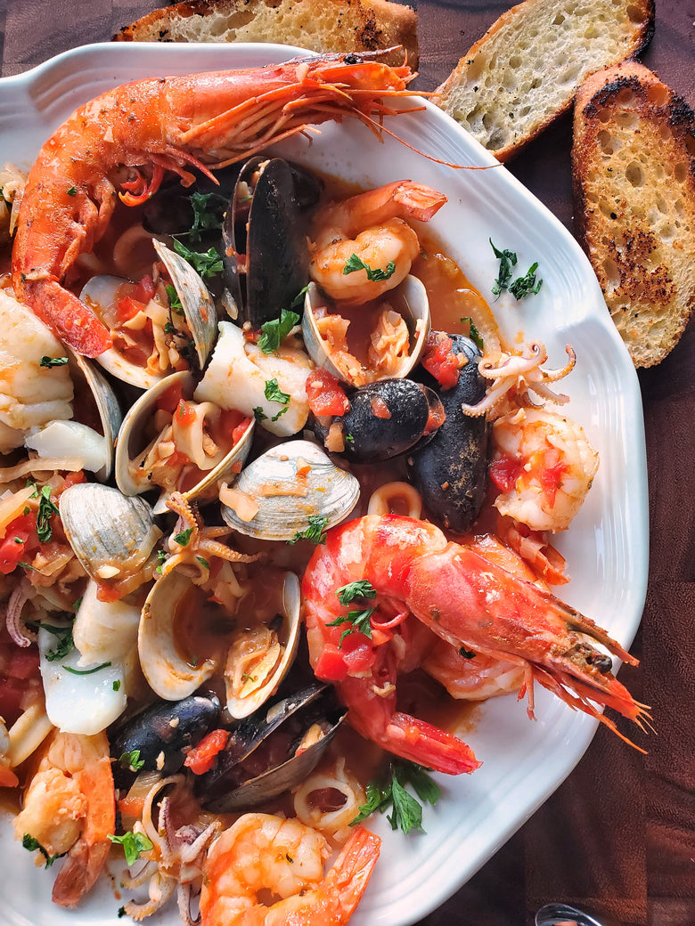 Cioppino (Fish Stew) New York Style Recipe