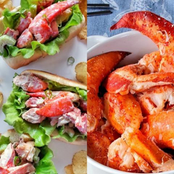 LOBSTER LOVERS ONLY! (INC. 1LB LOBSTER MEAT & 1LB LOBSTER SALAD)