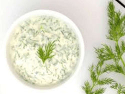 YOGURT DILL SAUCE BY PESCATORE, 8 OZ