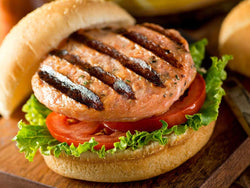 SALMON BURGER - ORIGINAL, 4 EA X 4 OZ / 1 LB$15.99