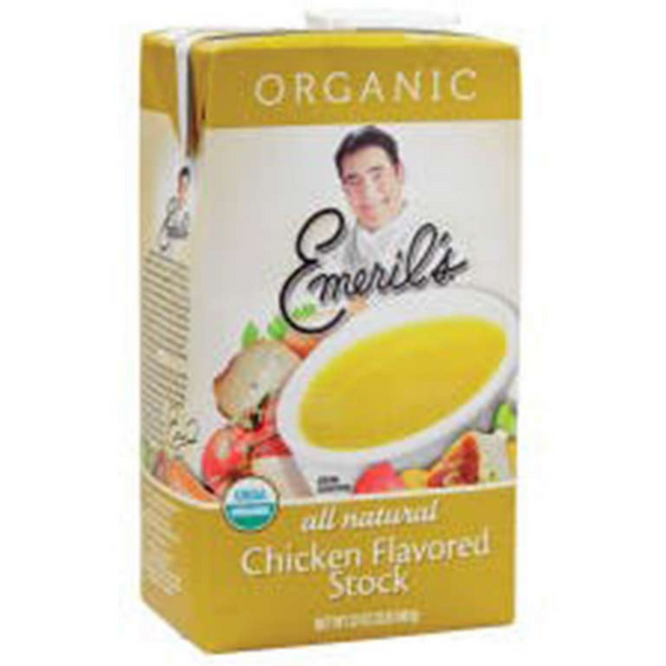 EMERIL'S CHICKEN STOCK, 32 OZ