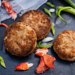 CAULIFLOWER LOBSTER CAKES, 4 PCS.