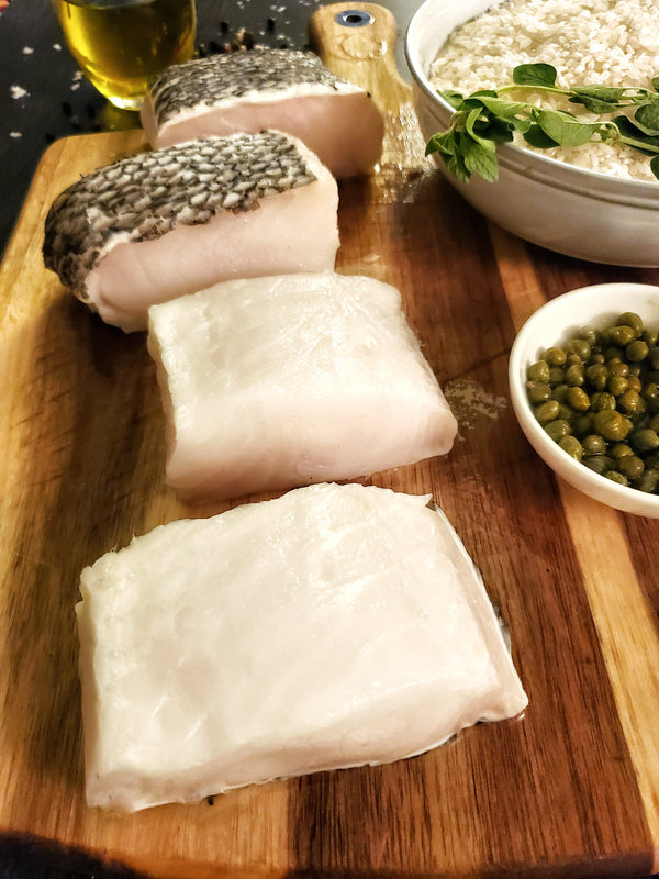 Chilean Sea bass Fillet, 2 Ea x 8 oz Portions / 1 Lb
