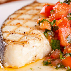 Marinated Halibut, 2 - 8 oz Portions
