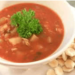 PESCATORE MANHATTAN CLAM CHOWDER, 16 OZ