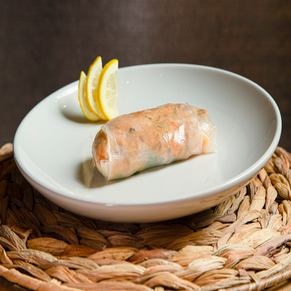 GRILLED SALMON SUMMER ROLLS, 2 PCS.
