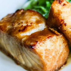 CHILEAN SEA BASS ASIAN STYLE, 2 - 8 OZ PORTIONS