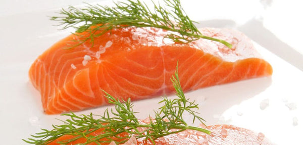 Fresh Norwegian Organic Salmon Fillet, 2 - 8 Oz Portions, 1 Lb