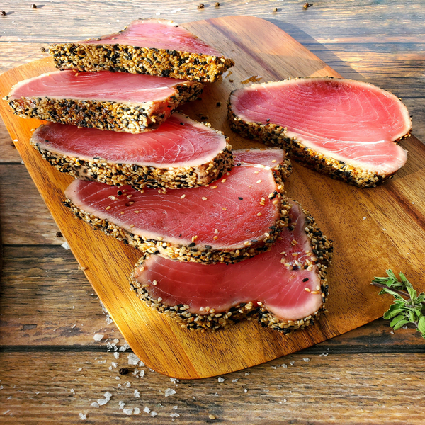 SESAME CRUSTED ASIAN TUNA LOIN, 1 LB