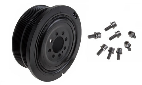 BMW E65/E66 7-Series Crankshaft Pulley-Vibration Damper By Febi 11237568345 - OEMBimmerParts