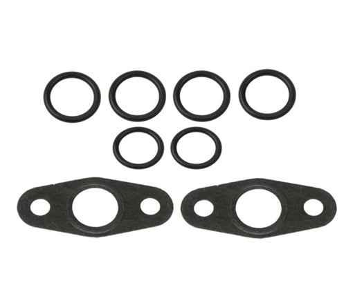 BMW 335 Turbocharger Oil Line Seal Kit OEM - OEMBimmerParts