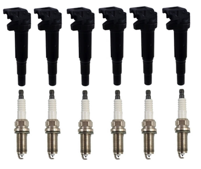 BMW E90/E92/E93 3-Series Ignition Coil & Plug Kit By Eldor OEM 12138657273 - OEMBimmerParts