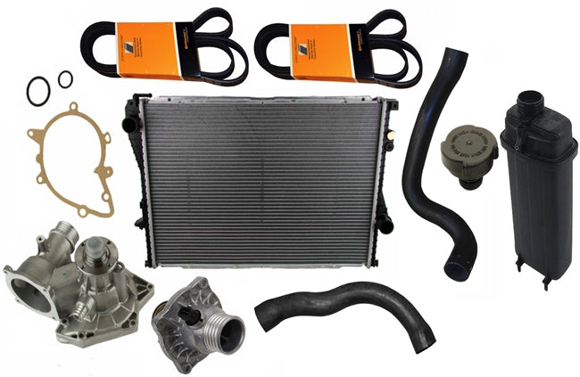 BMW 540i Cooling System Overhaul Kit (1997-08/1998) - OEMBimmerParts