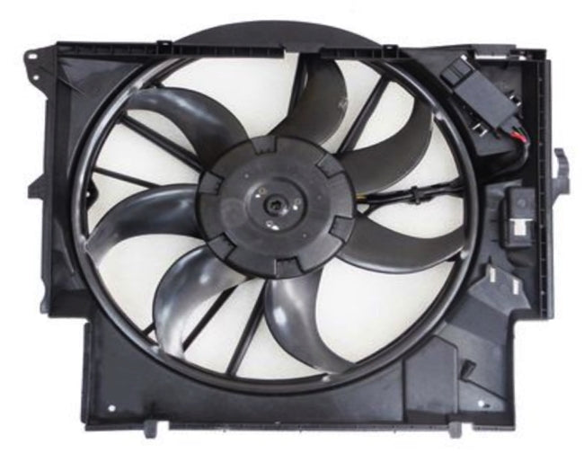 BMW 335 Auxiliary Cooling Fan Assembly 17427545366