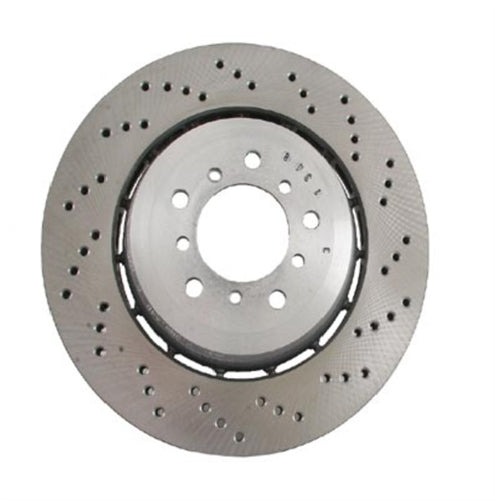 BMW E46 M3 CSL Front Euro Floating Brake Rotor By Zimmermann 34112282445 or 34112282446 - OEMBimmerParts