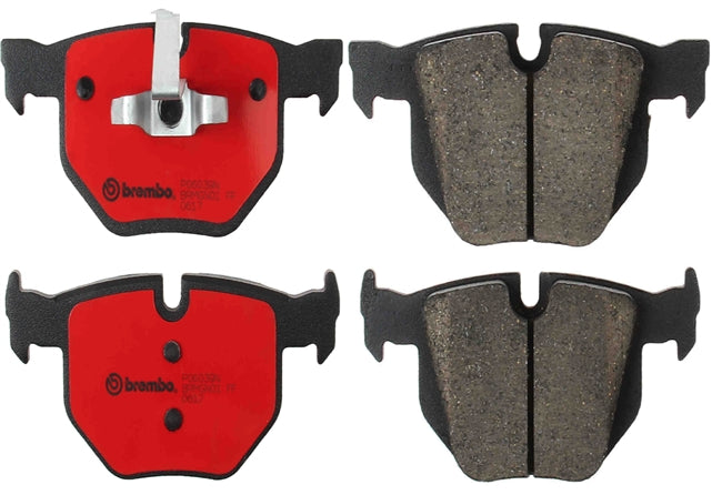 BMW E90/E92/E93 3-Series Front Ceramic Brake Pads By Brembo - OEMBimmerParts
