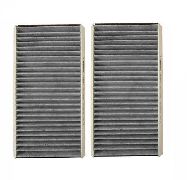 BMW E60/E61 5-Series Charcoal Activated Cabin Air Filter Set Value Line 64319171858 - OEMBimmerParts