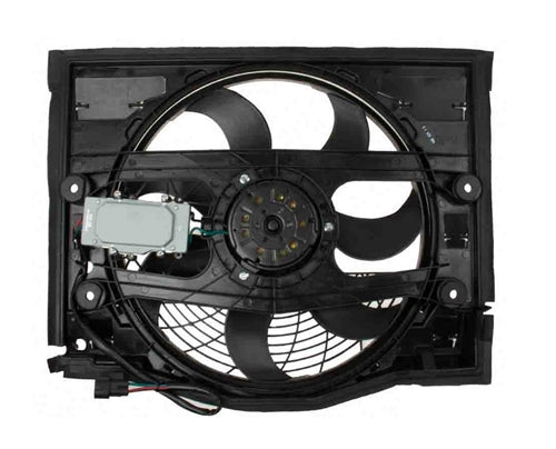 BMW E46 3-Series Auxiliary Cooling Fan (Pusher Fan) By Uro-TYC 64546988913 - OEMBimmerParts