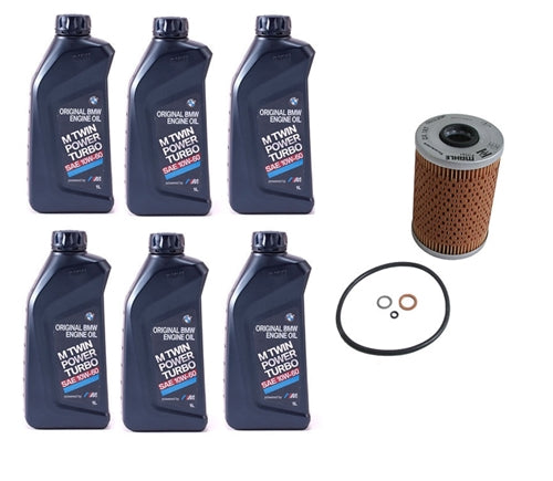 BMW E46 M3 Oil Filter Service Kit OEM - OEMBimmerParts
