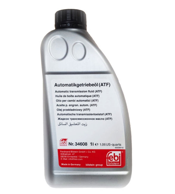 Automatic Transmission Fluid By Febi 1 Liter 83222220445