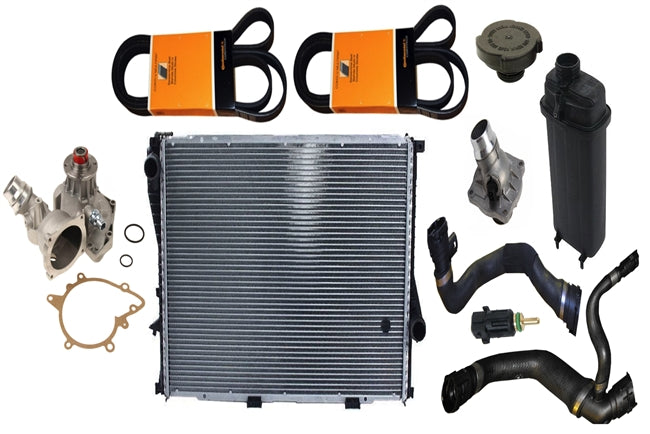 BMW 540i Cooling System Overhaul Kit (09/1998-2003) - OEMBimmerParts