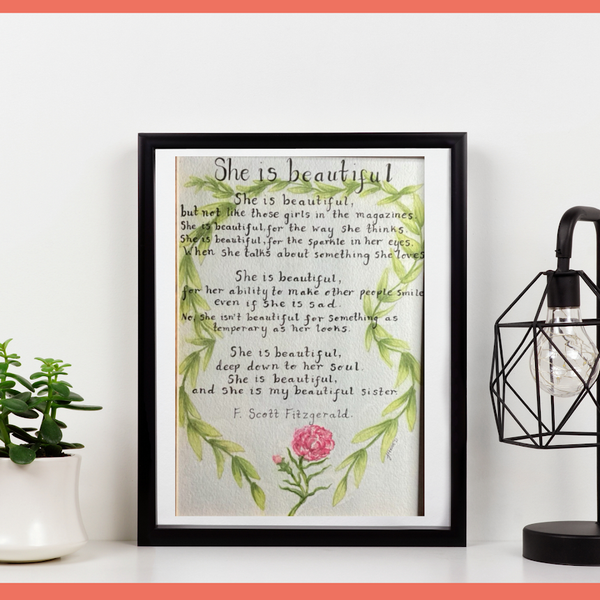 A4 Illustrated Poems/songs/verses