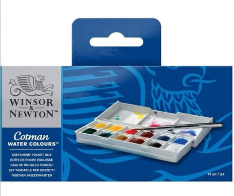 Windsor & Newton Cotman Watercolour Sketchers' Pocket Box