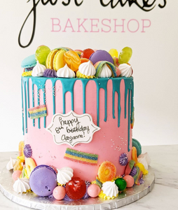 Candyland Drip Cake