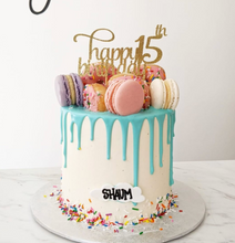 Load image into Gallery viewer, Classic Coloured Drip Cake