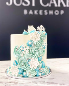 HOLIDAY COLLECTION: Snowflake Cake