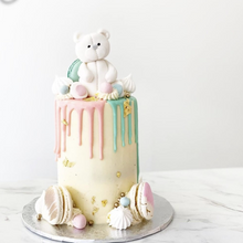 Load image into Gallery viewer, Teddy Bear & Drip Cake
