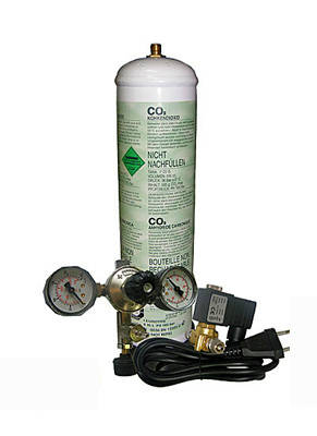 Growing marijuana with CO2 Kit