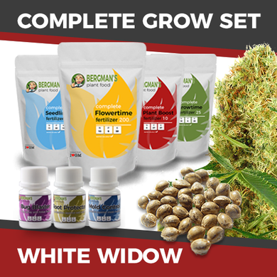 The Complete Marijuana Seed & Grow Set (White Widow)