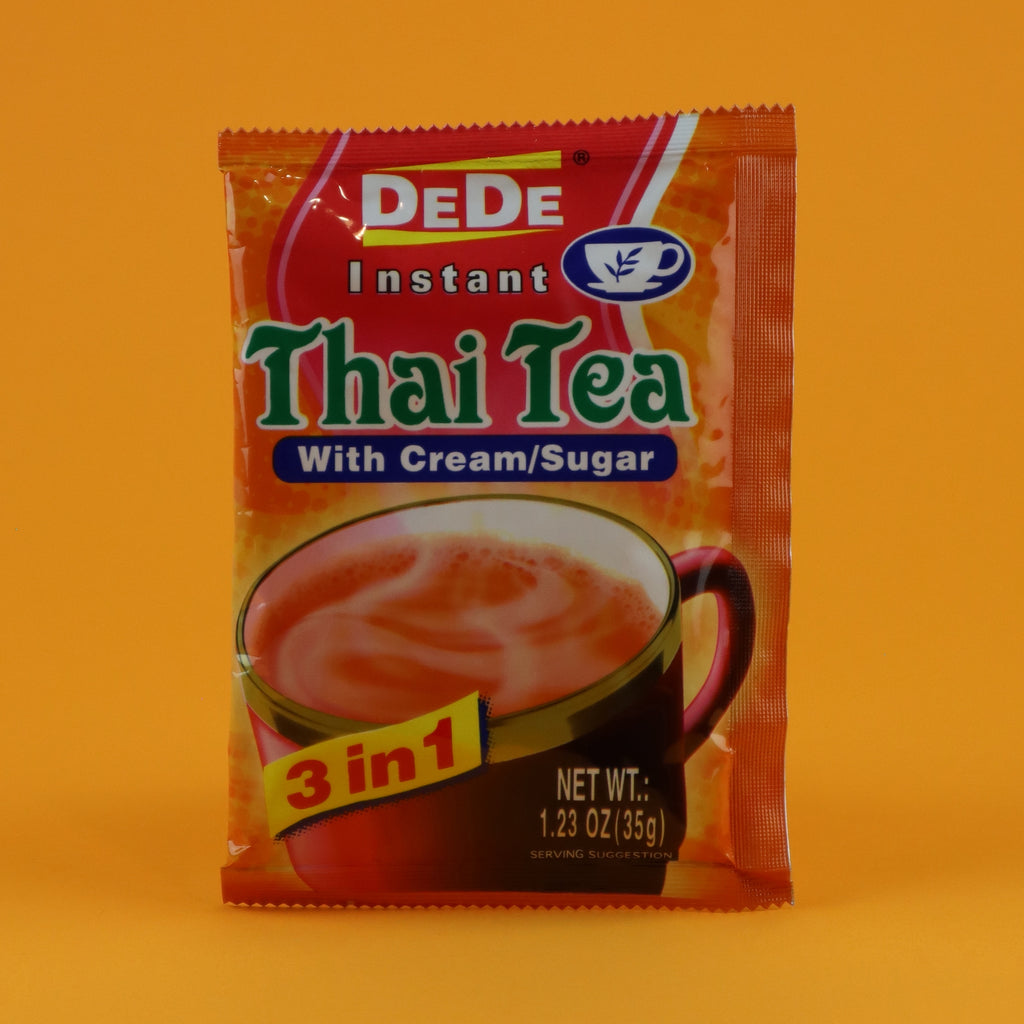 DEDE INSTANT THAI TEA LATTE MIX [12 SACHETS]