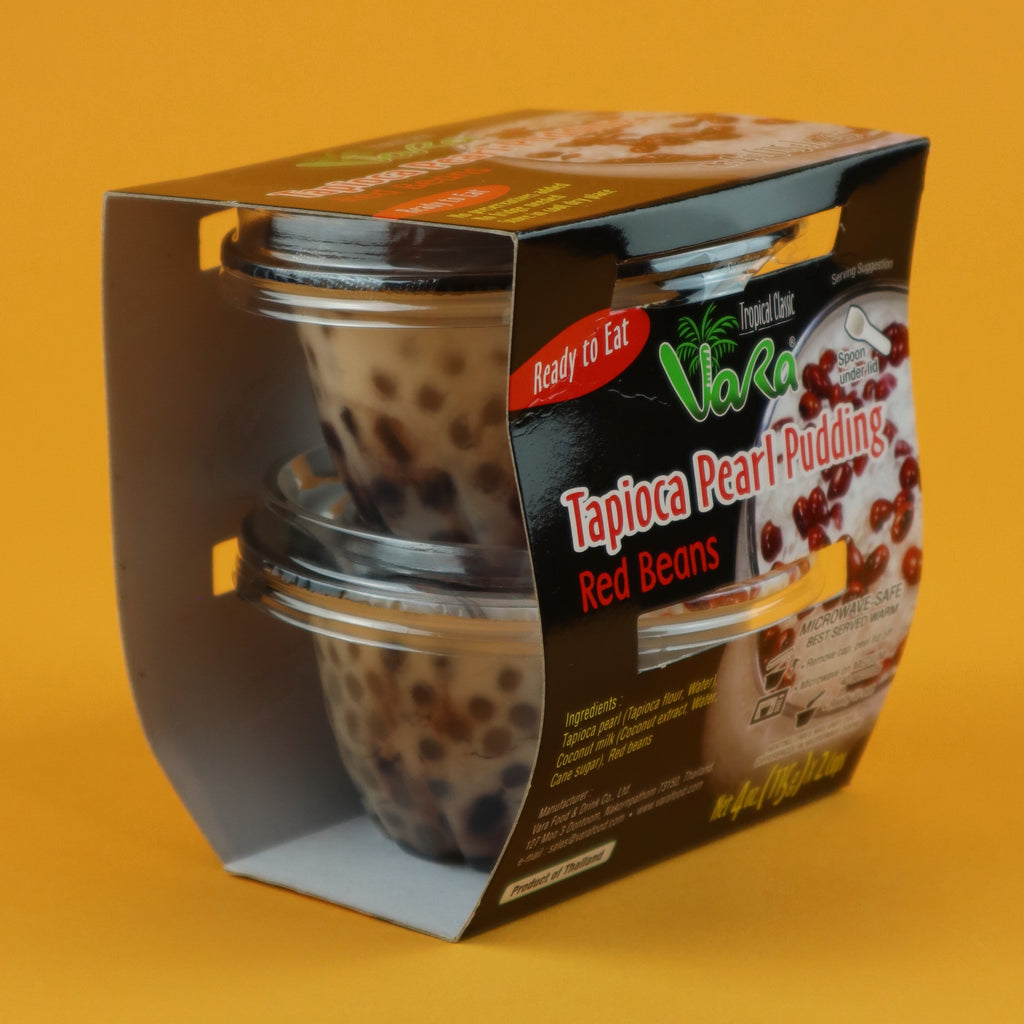 VARA TAPIOCA PEARL PUDDING WITH RED BEANS [4 PACK]
