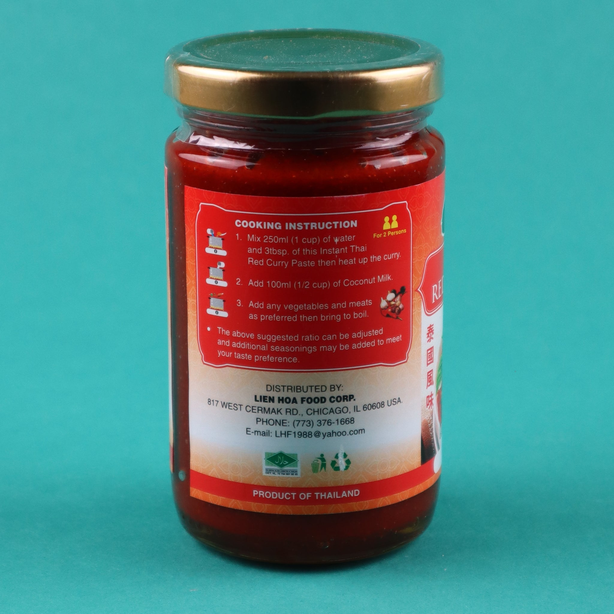 THAI FLAVOUR INSTANT RED CURRY PASTE