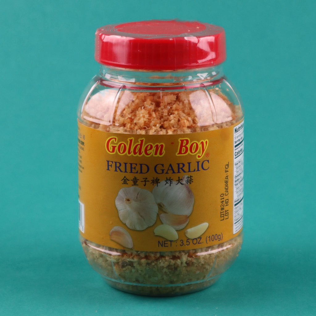 GOLDEN BOY FRIED GARLIC [4 PACK]